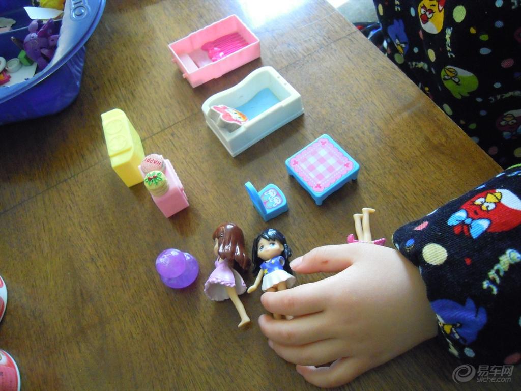 左右玩转糖果屋 贴画 人偶玩具 四