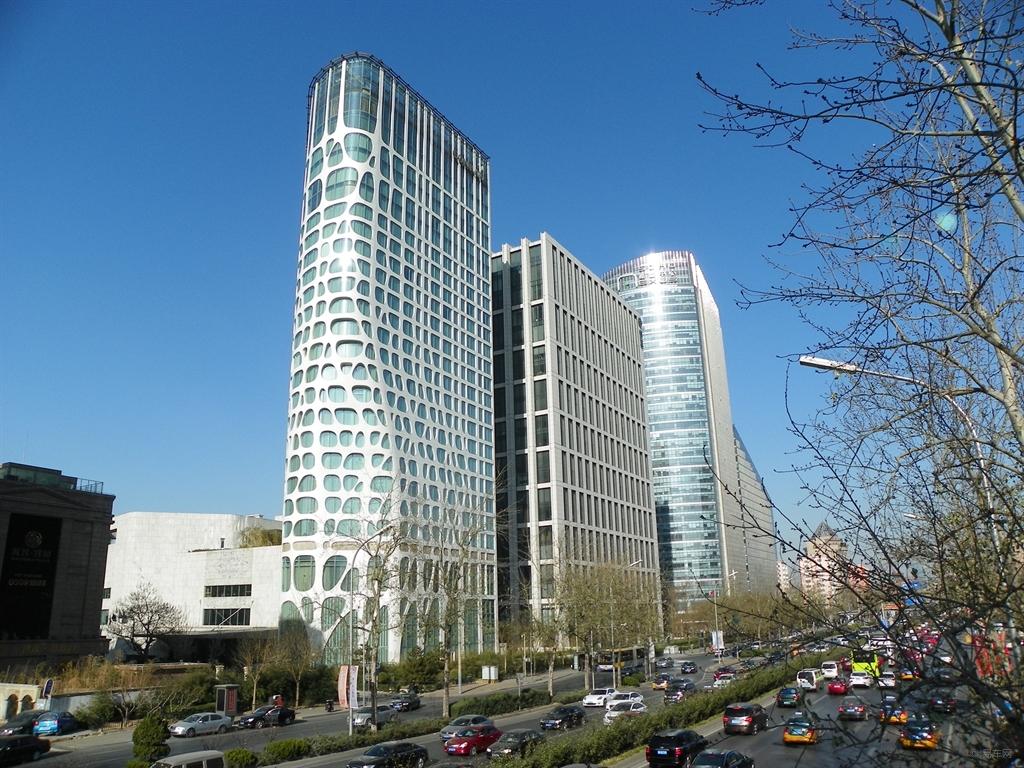 北京有个大裤衩,重庆有个歪歪楼