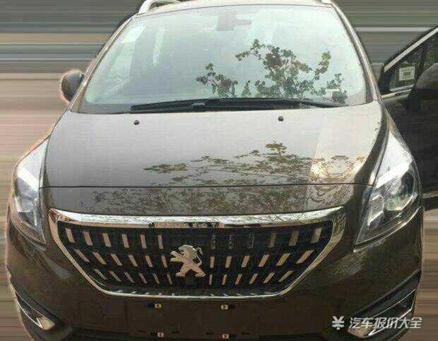 日前,汽车报价大全拍摄到了新款东风标致3008的广告图,新车高清图片