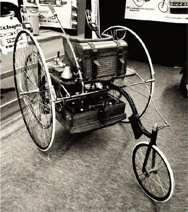 1881年,世界上第一辆电动车,比内燃机汽车早了5年.jpg高清图片