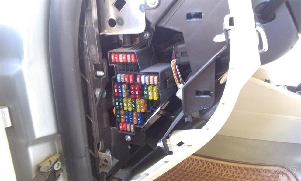 【自己从保险盒接行车记录仪.】