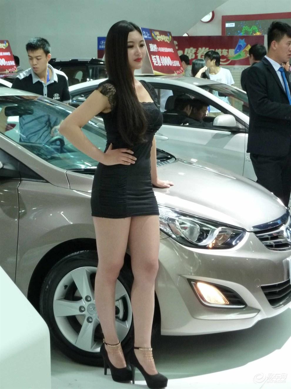 【宁夏银川 2013年五一车展看美女】 竖