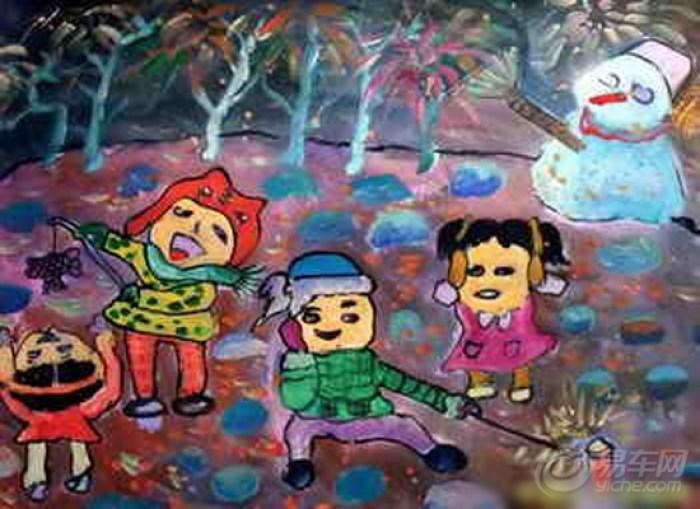 【儿童画--莫失童真】