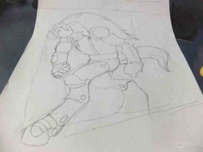 【原创】布雷斯塔警长之 变形马