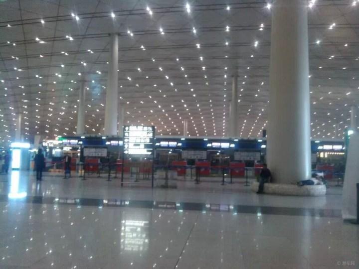 【首发】北京飞机场,建筑风格值得享受的雄伟