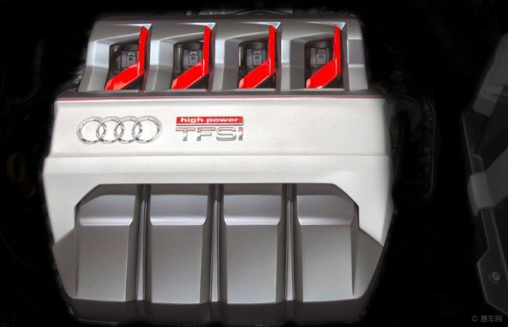全新奥迪TT 显得车大了一圈有没有?全液晶仪表盘取代中控液晶