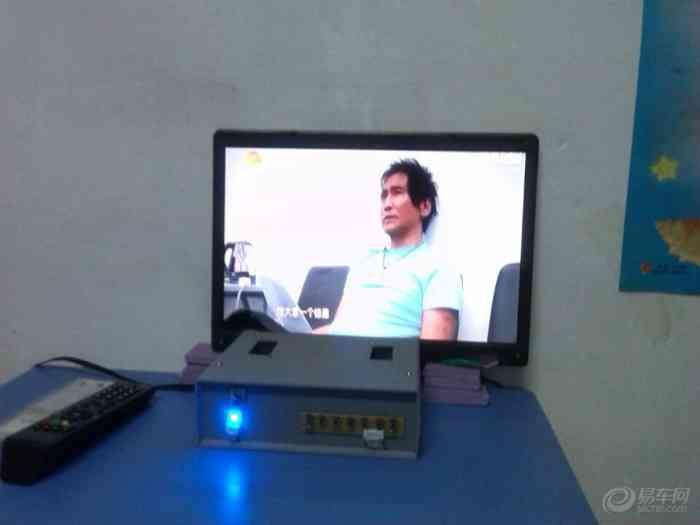 【笔记本屏改装液晶TV显示器一体机,上图为证