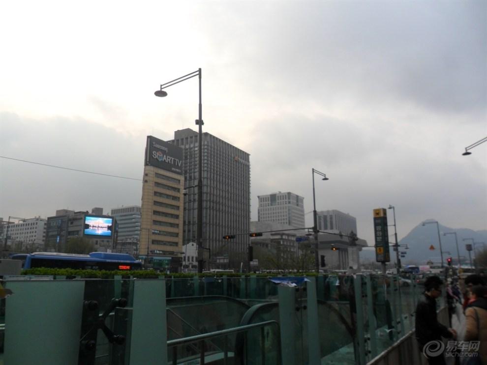 【忆韩国游之 首尔光化门广场】