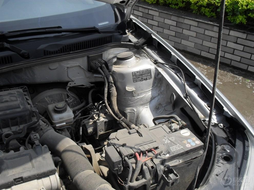 【春天的故事】自己清理,保养宝来的发动机舱图片