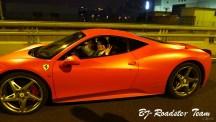 上法拉利458桃粉色提车作业 庆易车法拉利论...