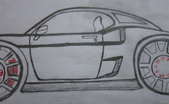 【我爱画汽车】自定义的福特野马gt40