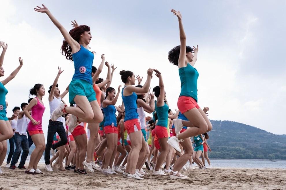 【【每日视频】美女舞蹈齐上阵(美女一排排另美女图鉴帅哥手图片