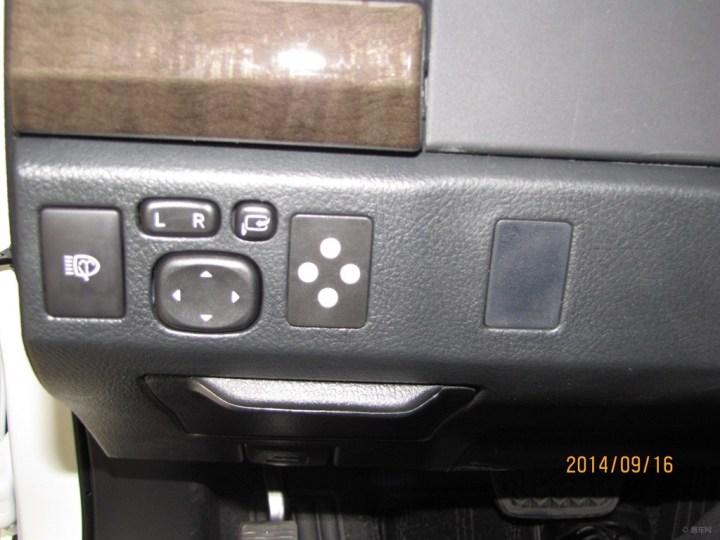 06年锐志车内按钮图解