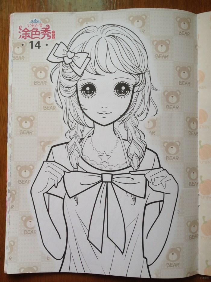 漂亮小公主简笔画步骤  简单