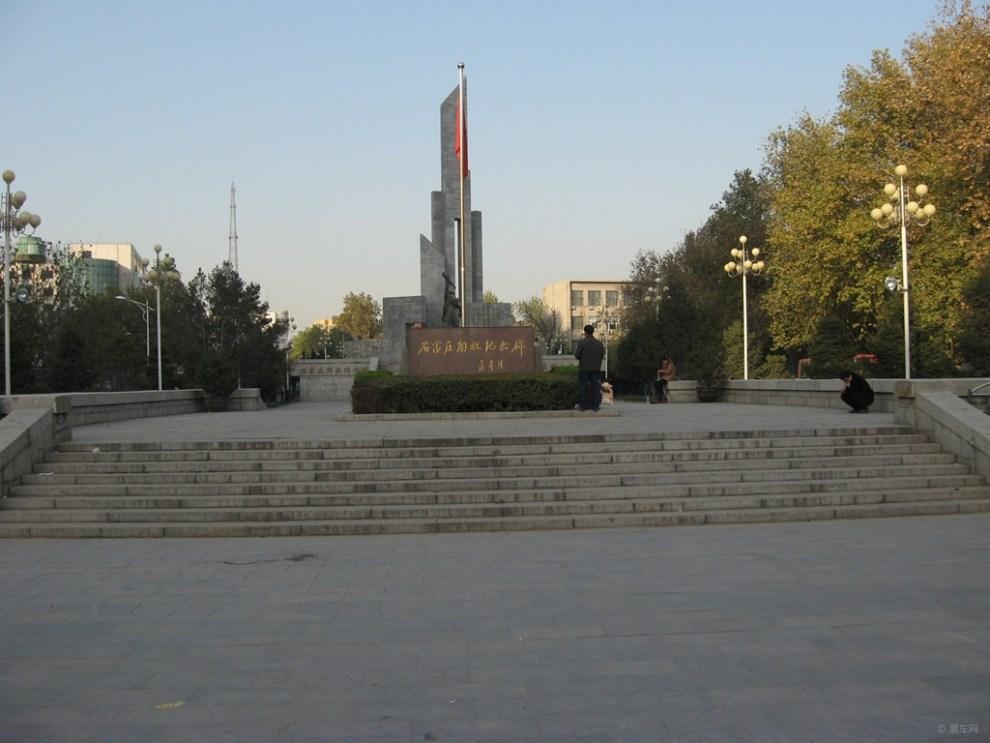 石家庄解放纪念碑随拍