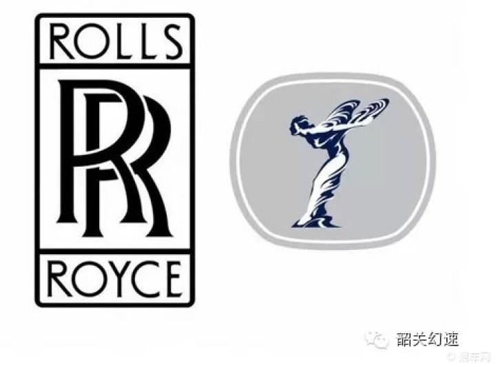 """标志所蕴含的意思   劳斯莱斯的标志图案采用两个""""r""""重叠在高清图片"""