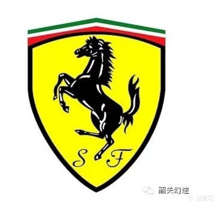 olls-royce)   法拉利车的标志是一匹跃起的马.在第一次世界大高清图片