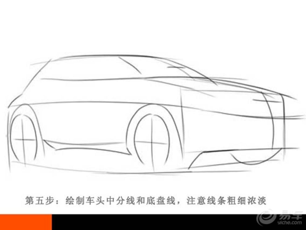 【汽车概念草图的绘制过程 转来的一个教程】_画汽车