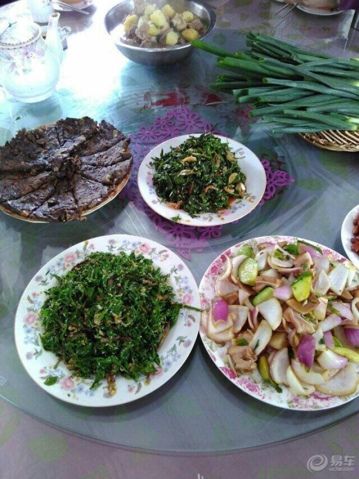 10月秋游等泰礴顶,吃野菜,看美景。