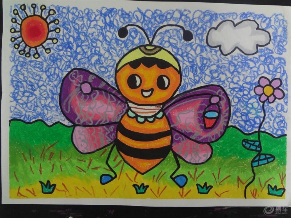 儿童画里看美丽童真世界图片
