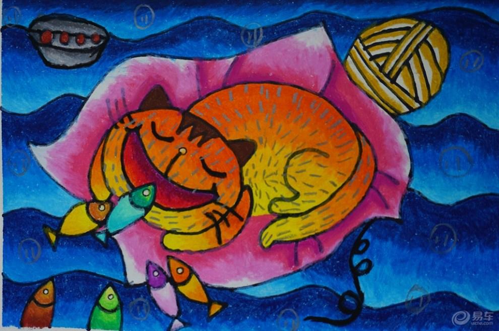 【镜头看世界】六一儿童节,看绚丽的儿童画