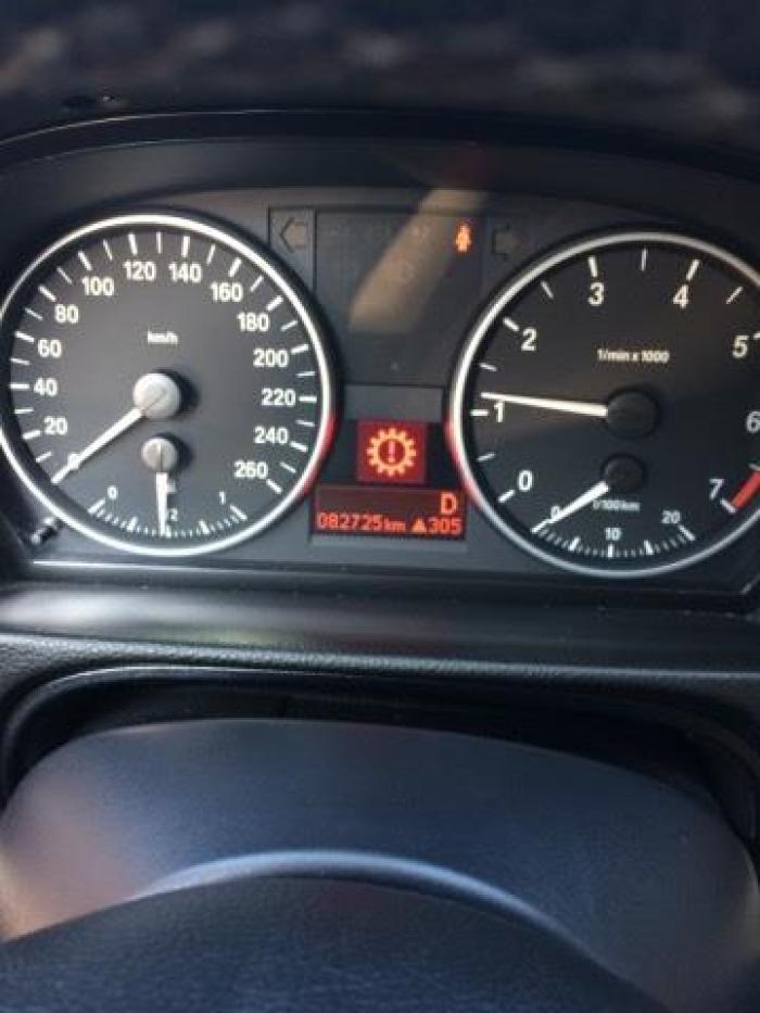 宝马E90 320打不着火就出现传动系统故障码,而且怠速在1 -易车问答高清图片