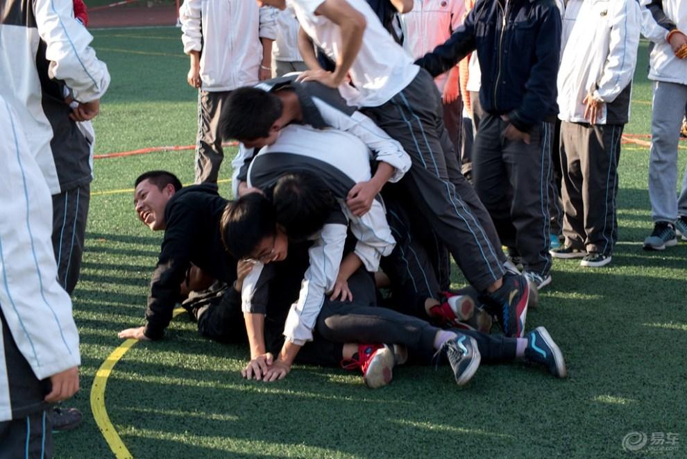 中学生运动会掠影