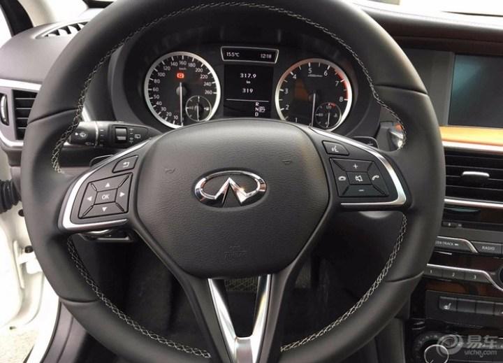 英菲尼迪QX30 看车、试驾作业