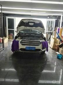 福特4s店买的认证二手车翼虎,加装氙气大灯