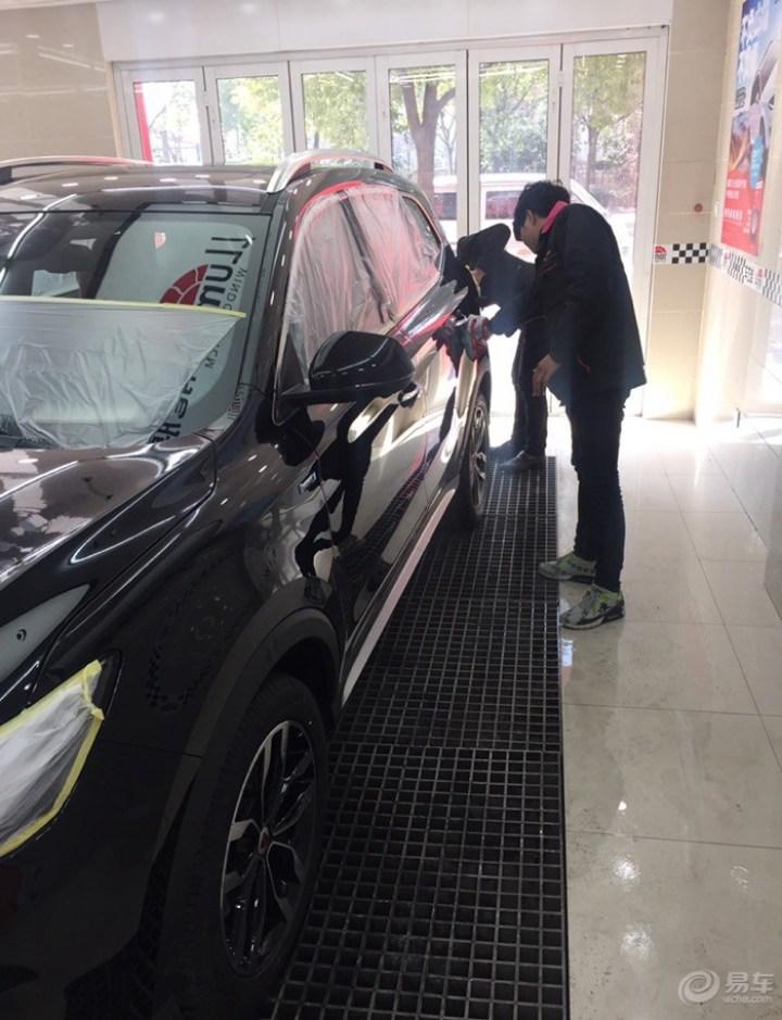 RSC 979 爱护新车,镀晶作业