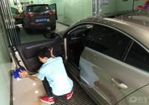 CC2.0T至尊提车 镀晶作业
