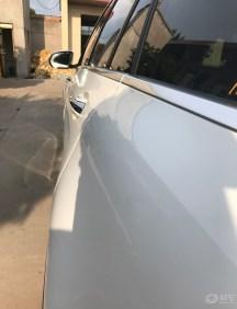 九零后白色奔驰GLC260动感提车