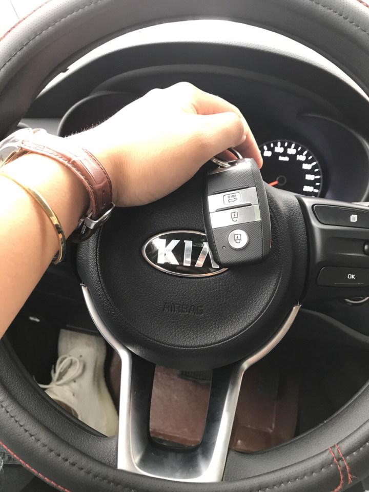 #提车作业#摩卡米颜色起亚KX CROSS提车