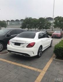 提奔驰C200L四驱作业
