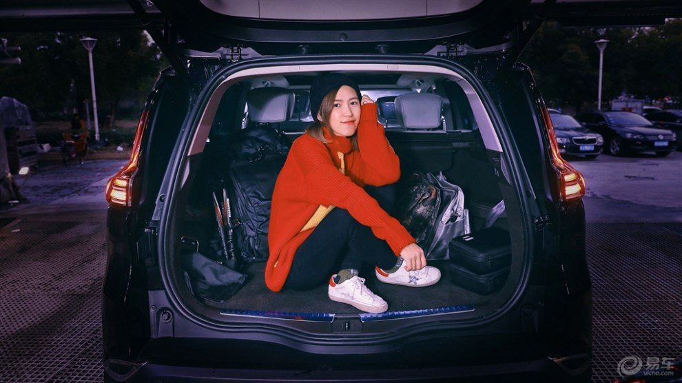 #易车众测# 雷诺ESPACE——我就是爱在后备箱闹腾。