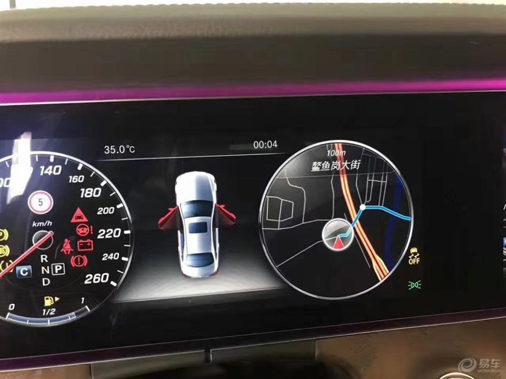 奔驰e300l液晶仪表加改装升级仪表盘液晶显示图片