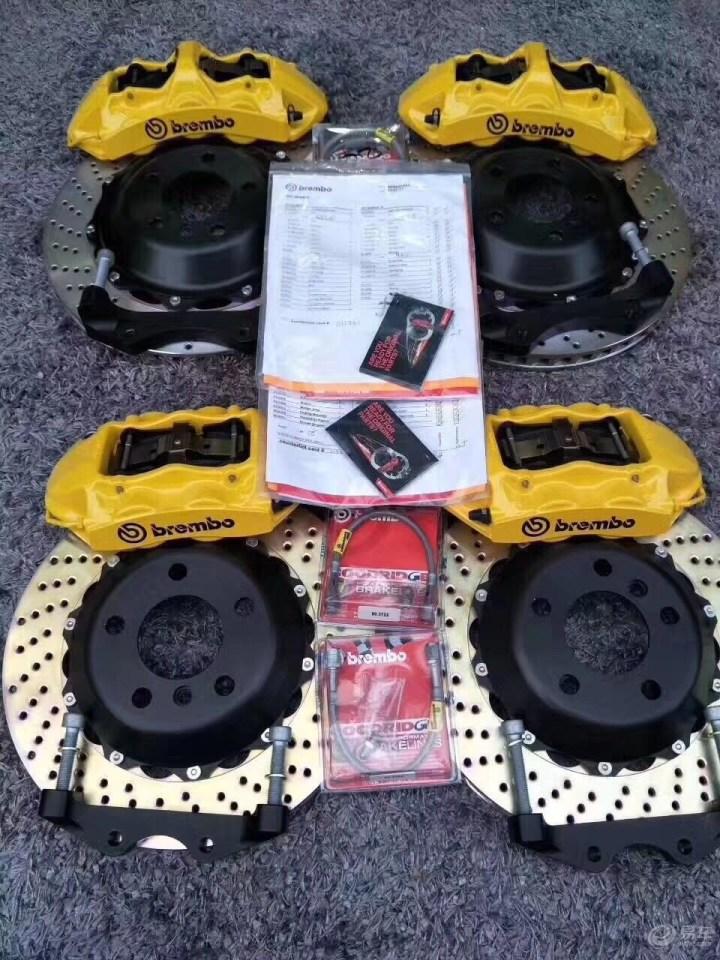 奥迪RS6带质保卡brembo大六活塞gt改装刹车盘