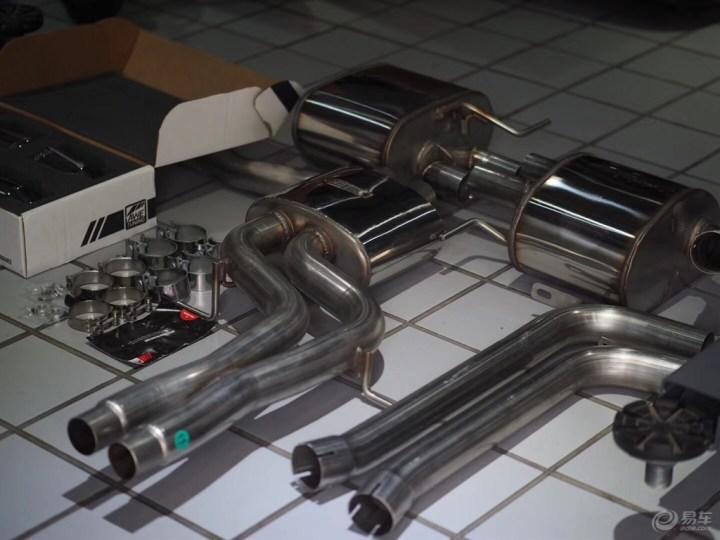 奥迪SQ5 3.0T安装美国 AWE排气精美案例