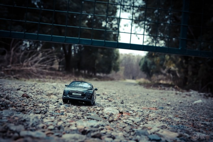 砂石路拍DS5车模