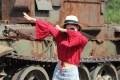 【媳妇当车模】携俏臀媳妇到铁山坪打卡,精彩大片来袭!
