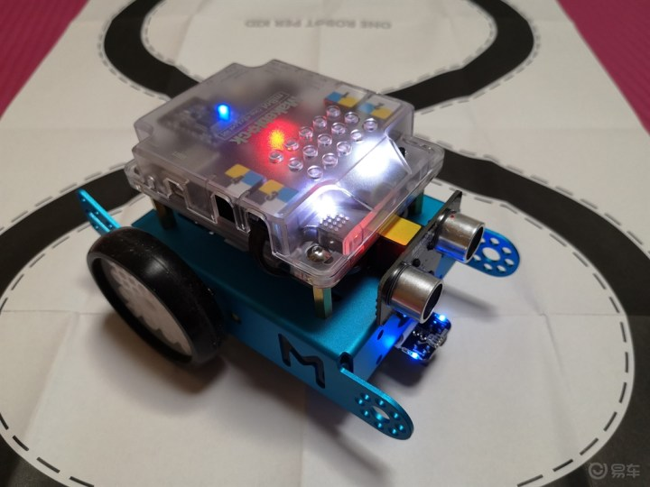 闲着了,在家装个小机器人玩玩!