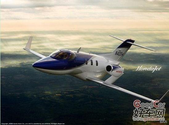 "honda 本田""hondajet""号私人飞机 新时代的喷气机"
