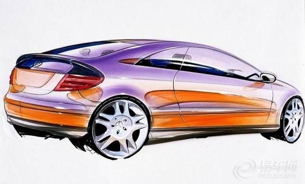 寻宝——汽车设计手绘稿