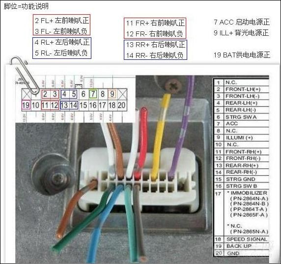 hs-c2187-cd机接线图a.