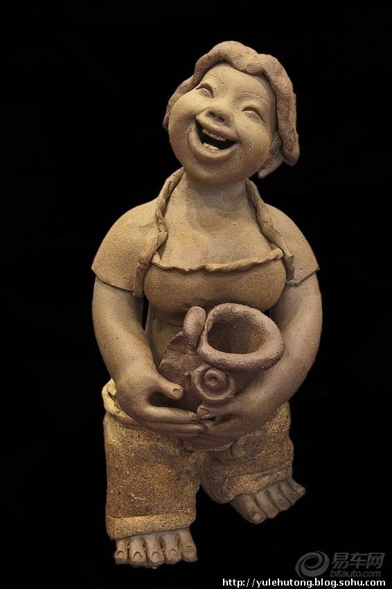 可爱的陶艺作品