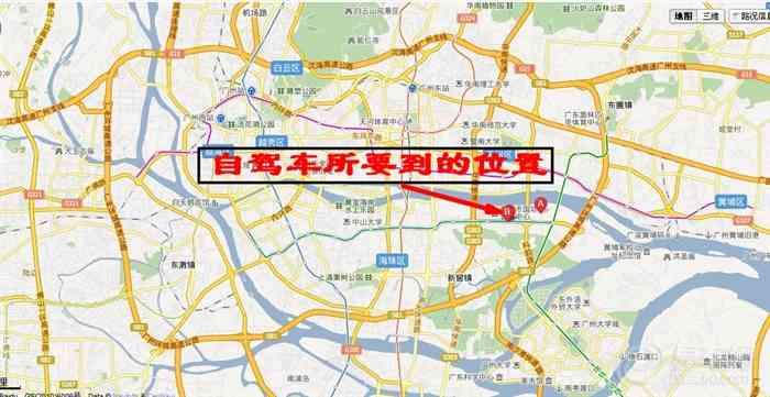 海珠区道路地图