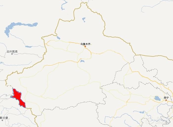 塔什库尔干塔吉克自治县位于新疆维吾尔自治区西南部,帕米尔高原东部