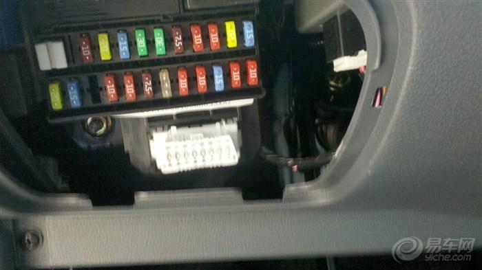 汽车速腾cd接线图解