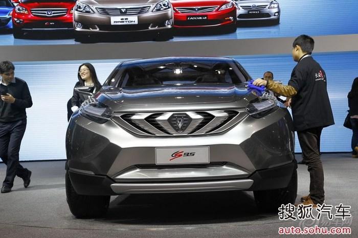 长安全新SUVCS95首发定位大型SUV 预计2014年量产高清图片