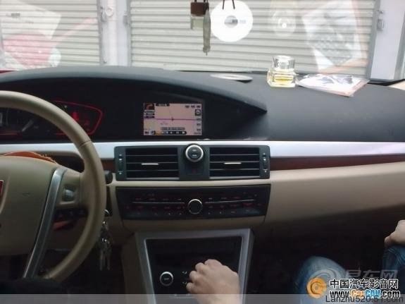 荣威550 MG6原车屏升级加装DVD导航一体机,交作业了 -荣威550论坛高清图片